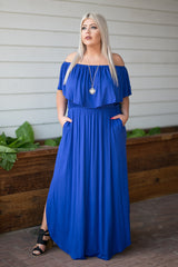 Fashion Goals Maxi - Royal Blue