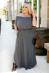Fashion Goals Maxi - Charcoal