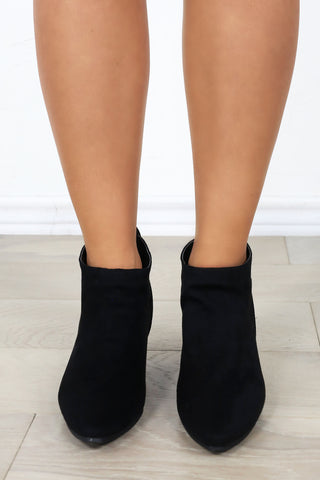 Griffin Booties- Black