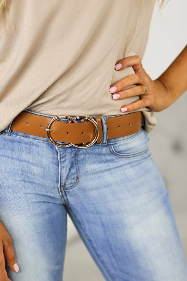 Gwenda Belt- Gold Buckle
