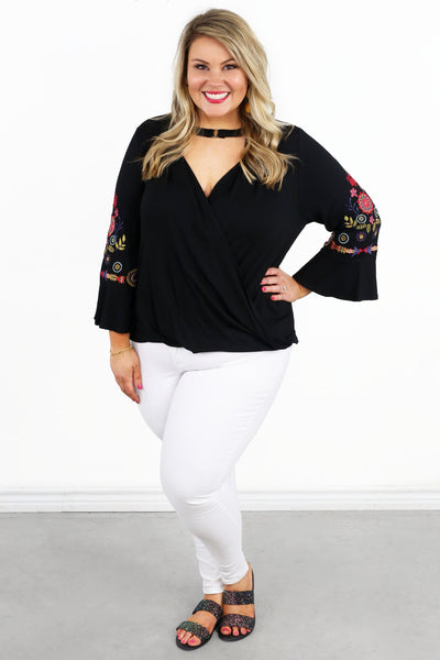 Happy Together Bell Sleeve Top