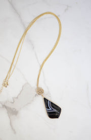 Kiki LaRue Collection: Tiger Eye Necklace