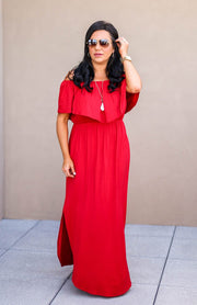 Fashion Goals Maxi - Red