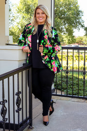 The Office Edit x Kiki LaRue: Boss Lady Blazer Black/Neon