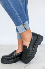 Kiki LaRue Hansen Black Slip On Loafers