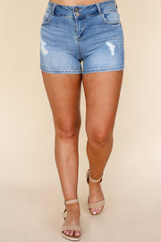 Kiki LaRue Denim: Kaylina Shorts