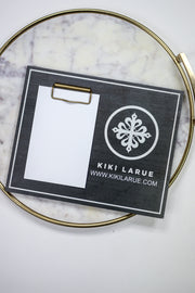 Kiki LaRue Logo Memento Photo Holder