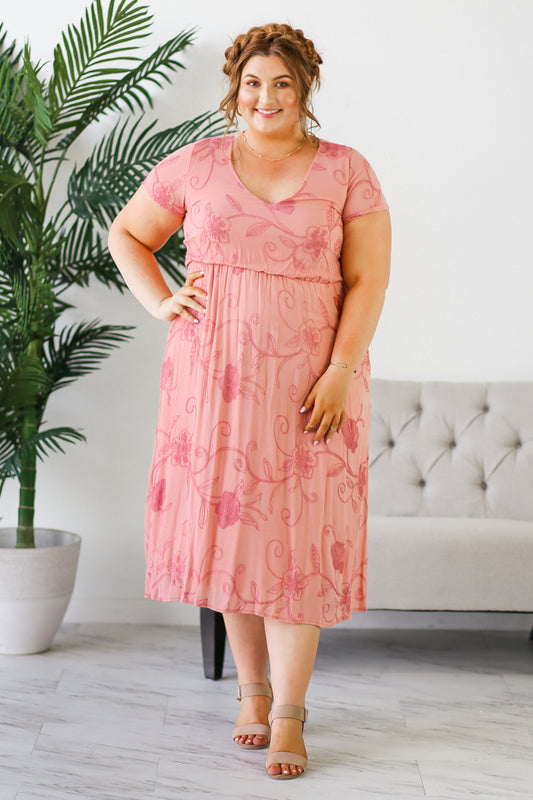 Lottie Dress - Blush