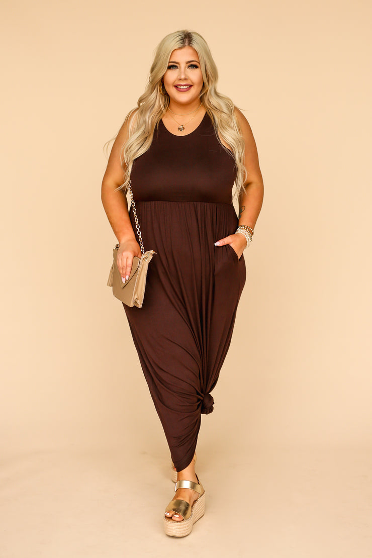 Kiki LaRue Marsha Maxi - Dark Brown