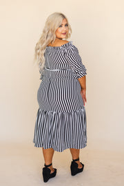 Orla Off The Shoulder Midi Dress