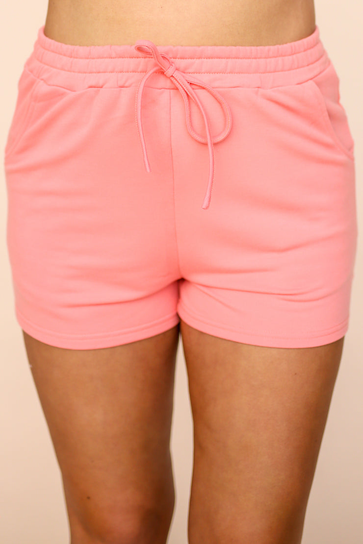 Percy Coral Shorts