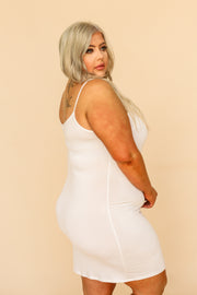 Kiki LaRue Plus Size Cami Dress - Ivory