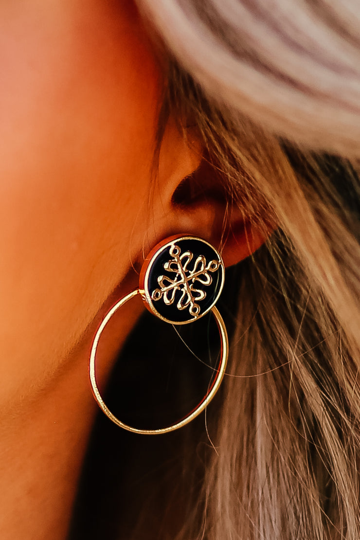Kiki LaRue Collection: Signature Gold Post Interchangeable Earrings