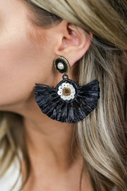 Kiki LaRue St. Lucia Earrings - Black