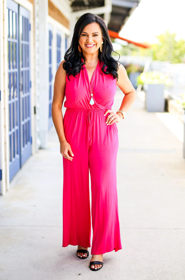 The Office Edit x Kiki LaRue: Sleeveless In Sarasota Jumpsuit