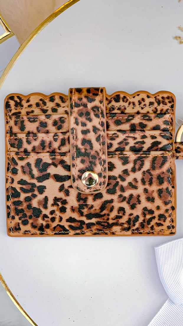 Jessica Animal Print Wallet