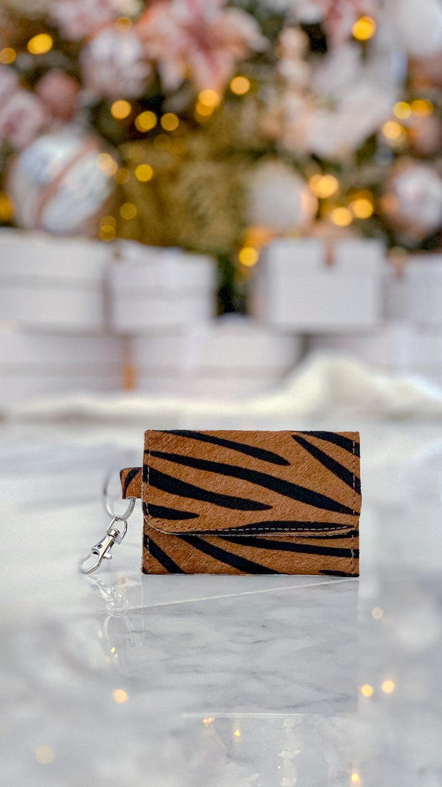 Eye of The Tiger Keychain Wallet