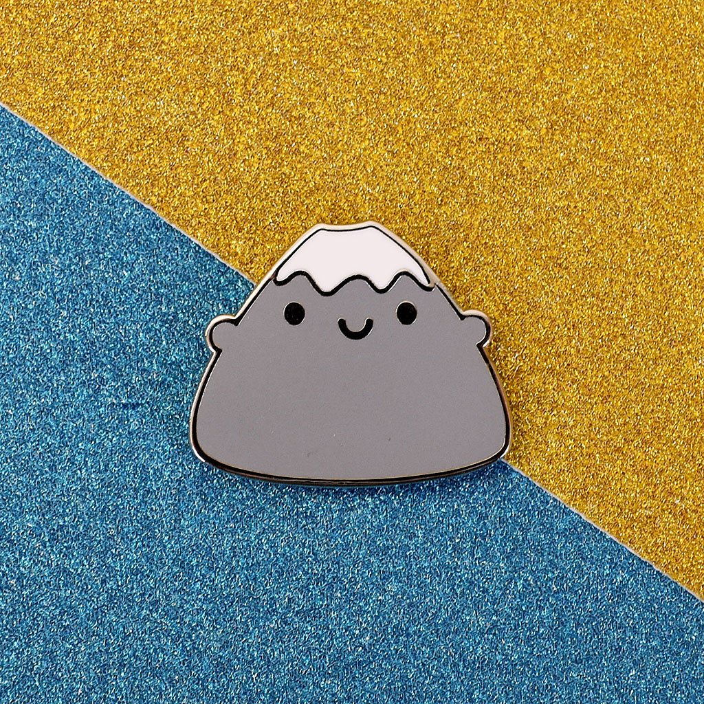 Mount Fuji Enamel Pin