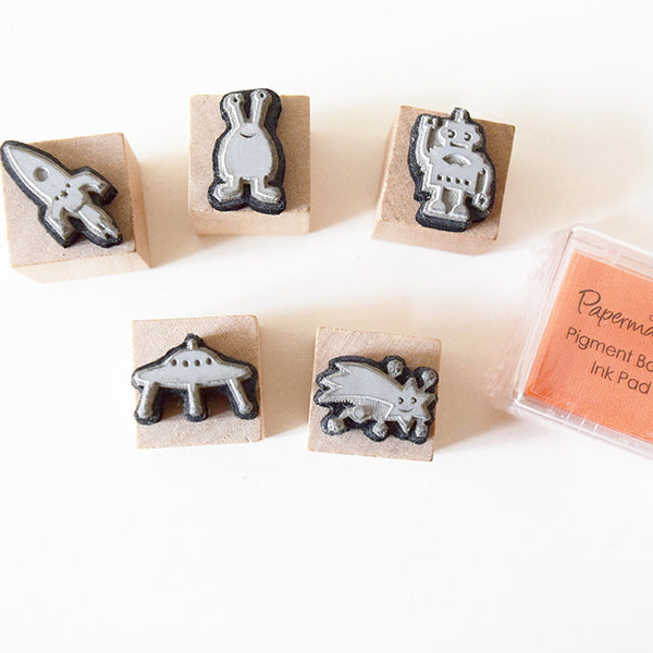 Children's Rubber Stamper Set - Choice of Designs