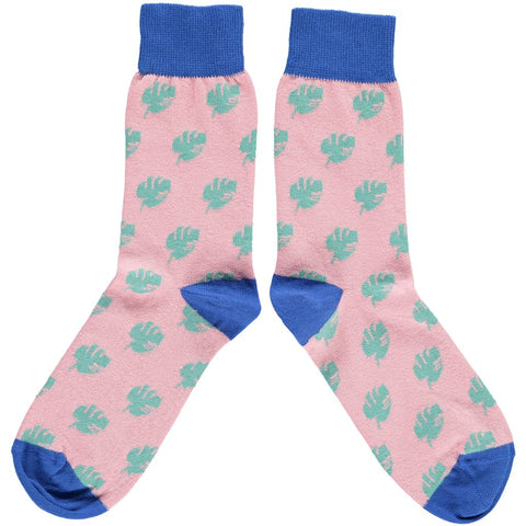 Cheese Plant Design Soft Cotton Ladies Ankle Socks