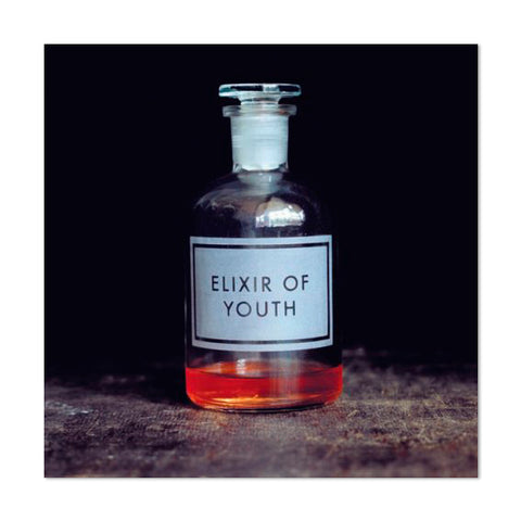 Witty Elixir of Youth Greeting Card