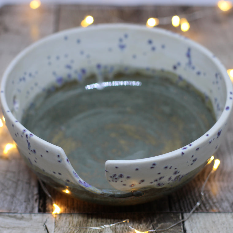 Hand Throw Yarn Bowl - No. 17
