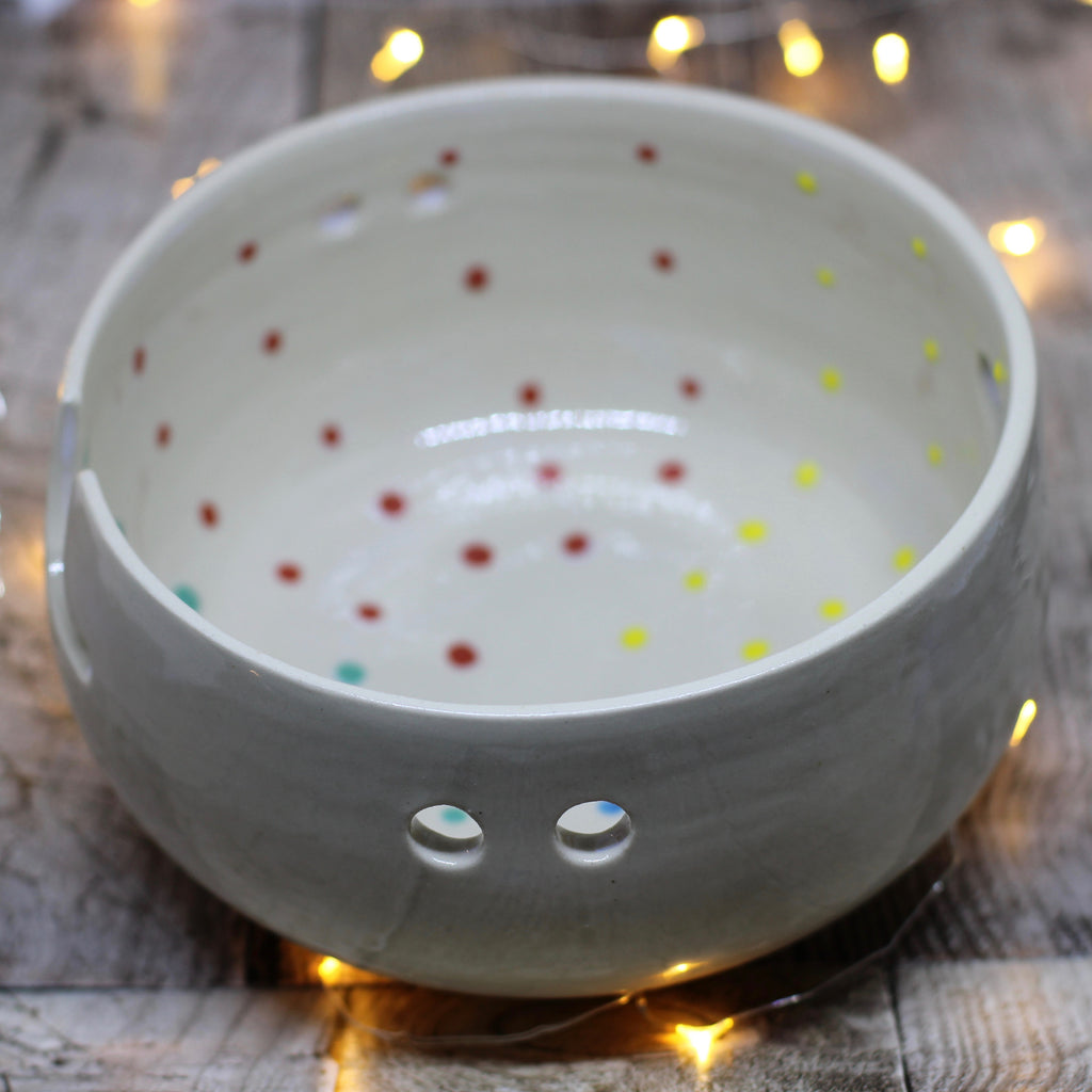 Hand Thrown Yarn Bowl - No. 18
