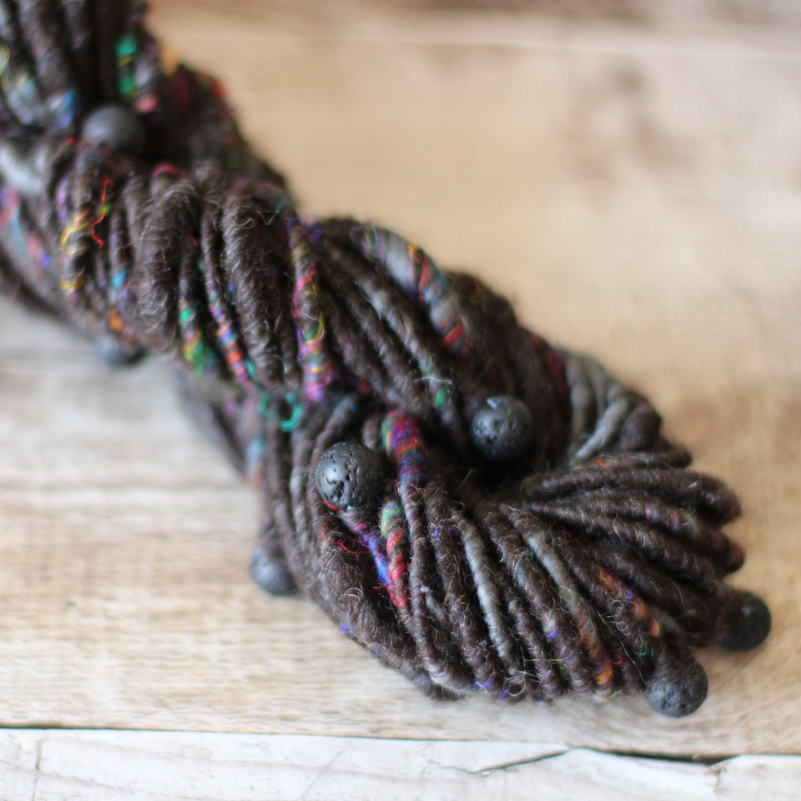 Handspun Yarn - Corespun Beads No. 273