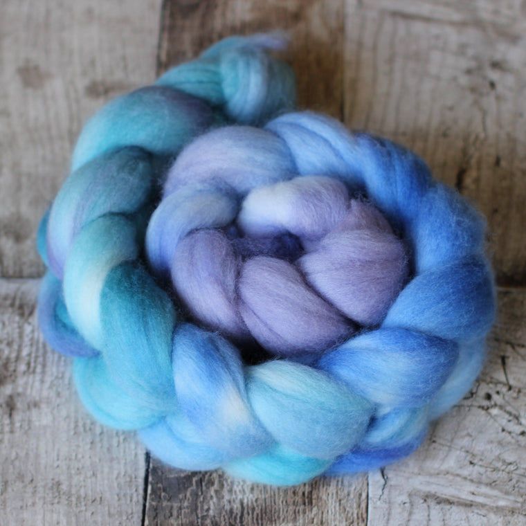 Australian Castledale Wool Roving / Top - Collin
