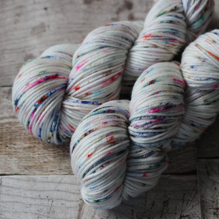 Australian Superwash Merino / Nylon / Silk 8ply Yarn - Jasmine