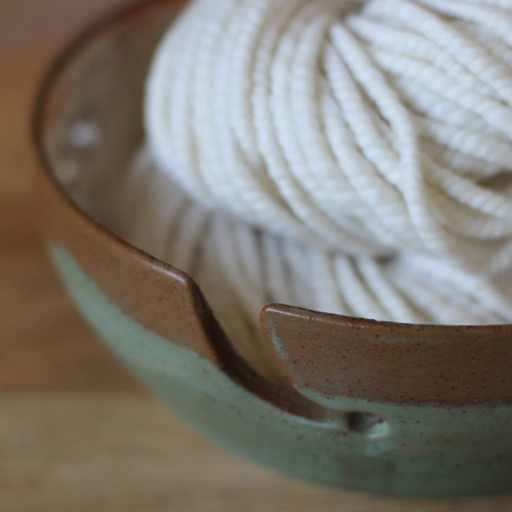 Hand Thrown Yarn Bowl - No. 10