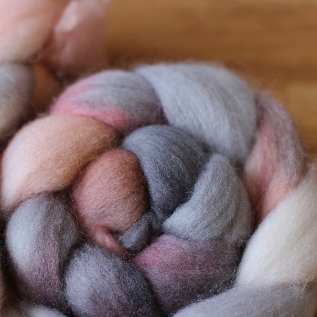 Australian Castledale Wool Roving / Top - Maide