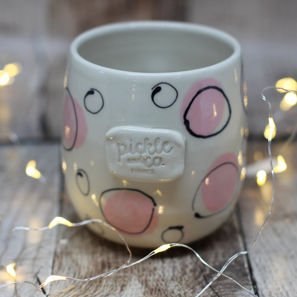 Pickle and Co Fibres Mug - Big Ol Spots