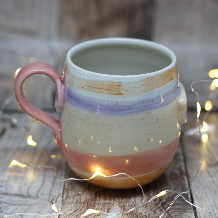 Pickle and Co Fibres Mug - A Dash of Purple