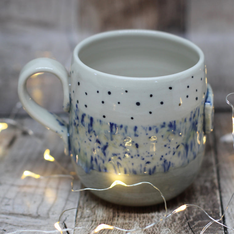 Pickle and Co Fibres Mug - Speckles and Spots