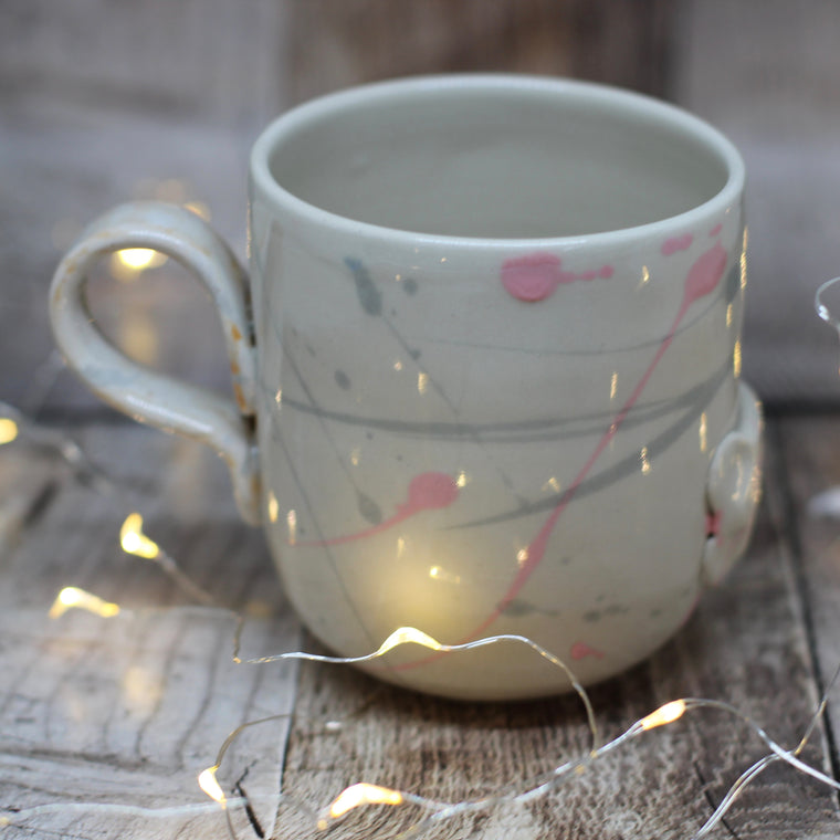 Pickle and Co Fibres Mug - Paint Lashes