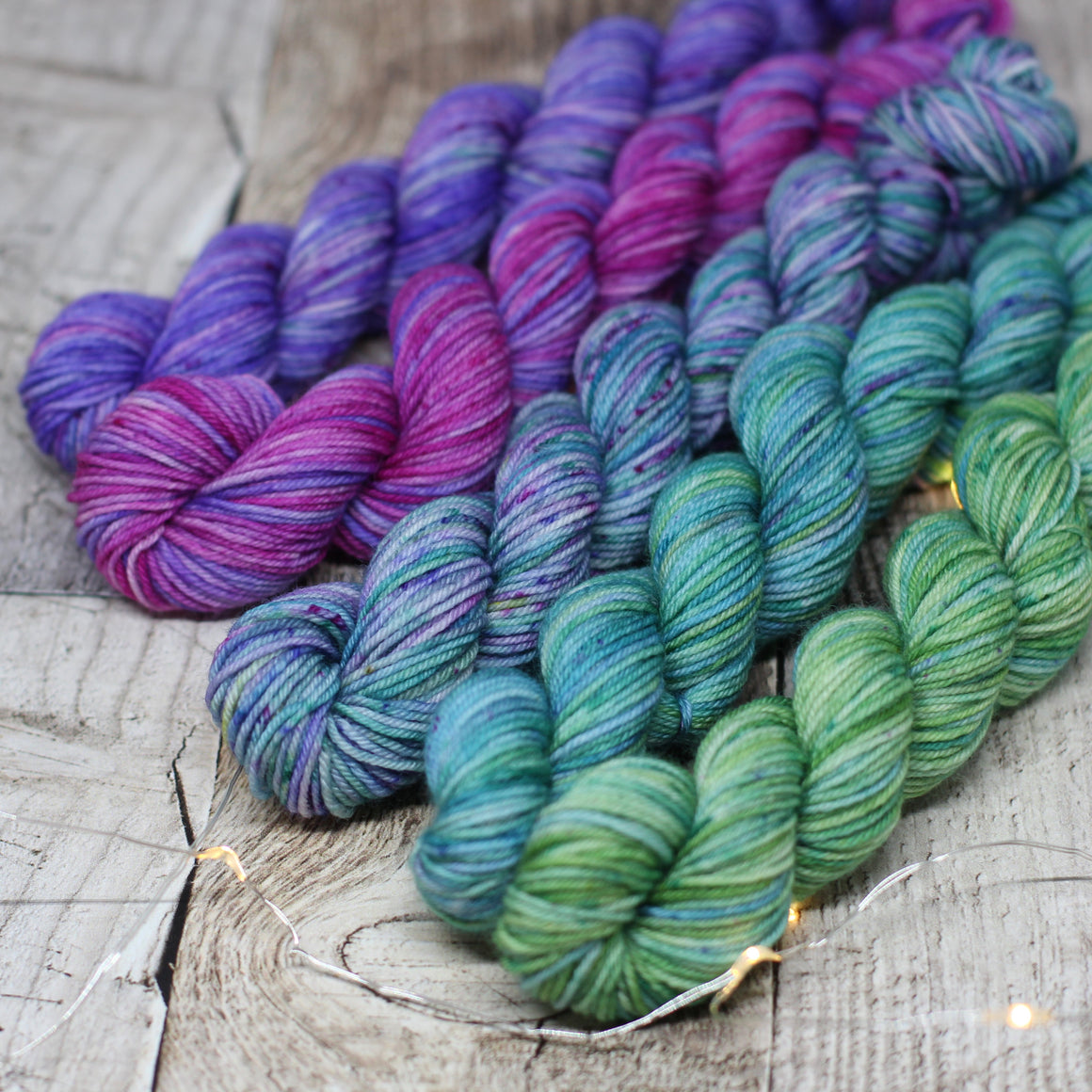 4ply Mini Skein Set - Gemstones