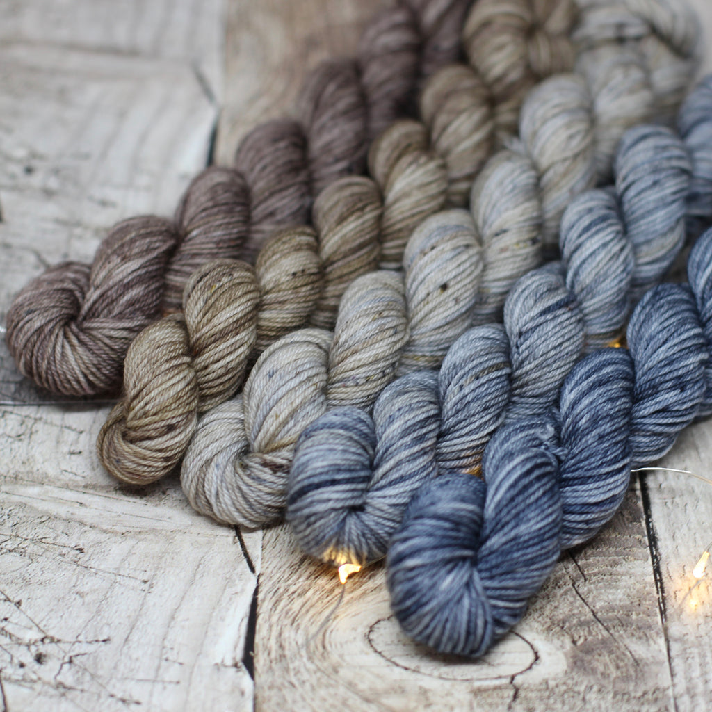 4ply Mini Skein Set - Industrial