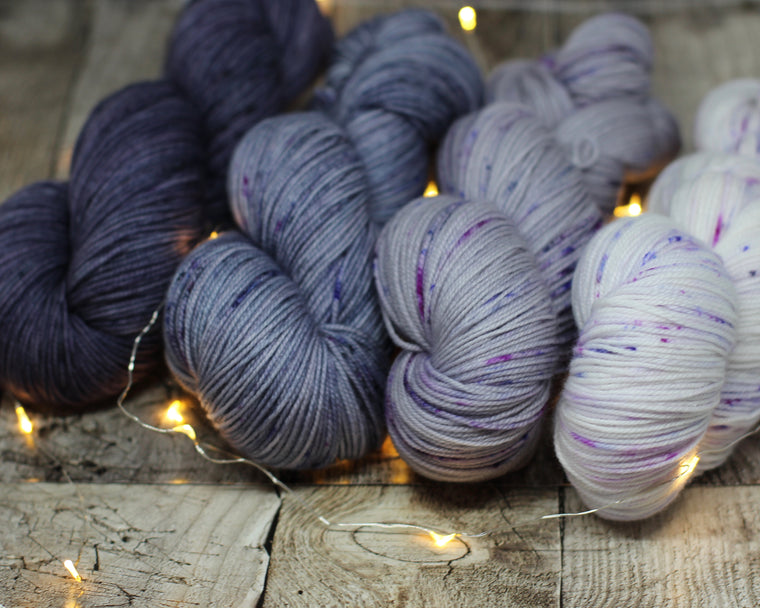 Pickle Sock Gradient Kit - Smokey Purple