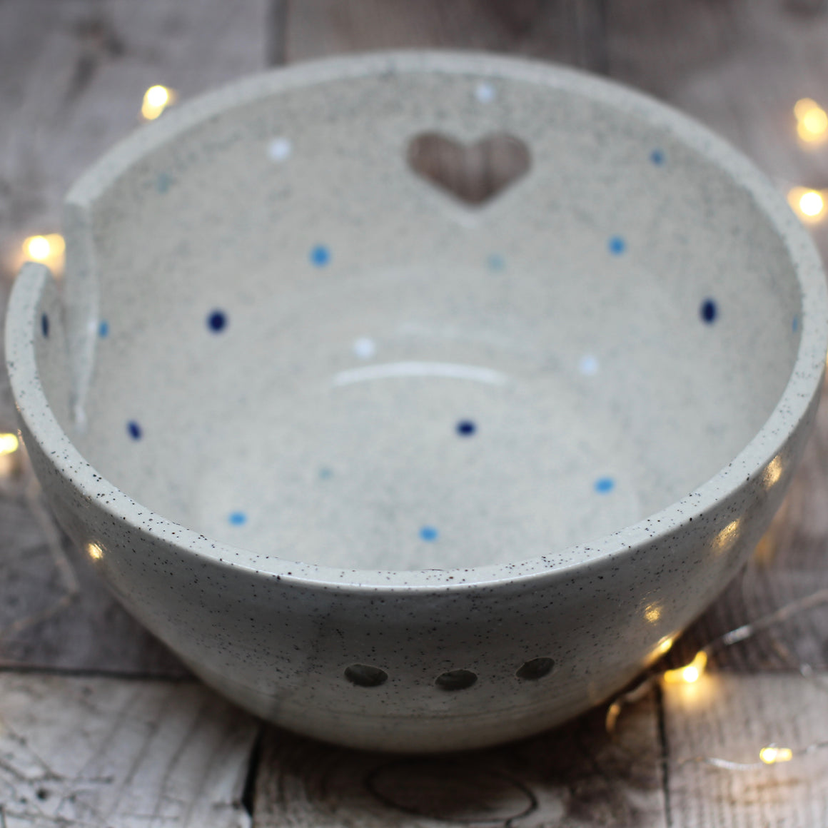 Hand Thrown Yarn Bowl - No. 21