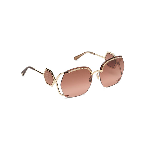 Sunglasses Statement - Gold/Brown