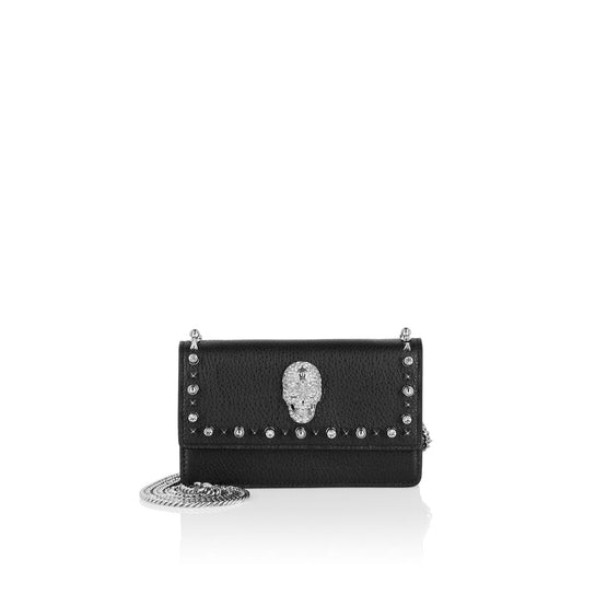 Shoulder Bag Studs - Black