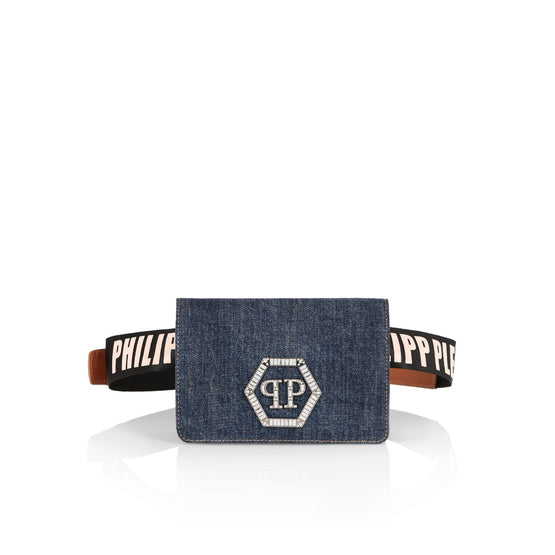 Pouch Statement - Middle Blue