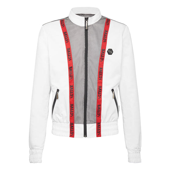 Nylon Jacket Philipp Plein TM - White