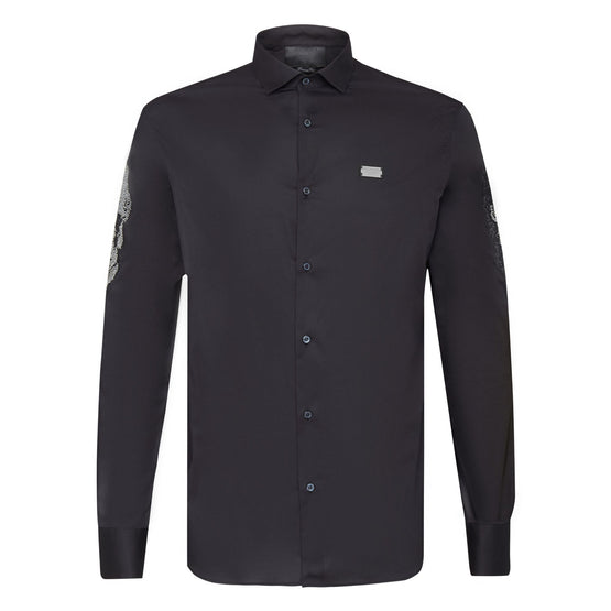 Shirt Platinum Cut SS Skull - Black