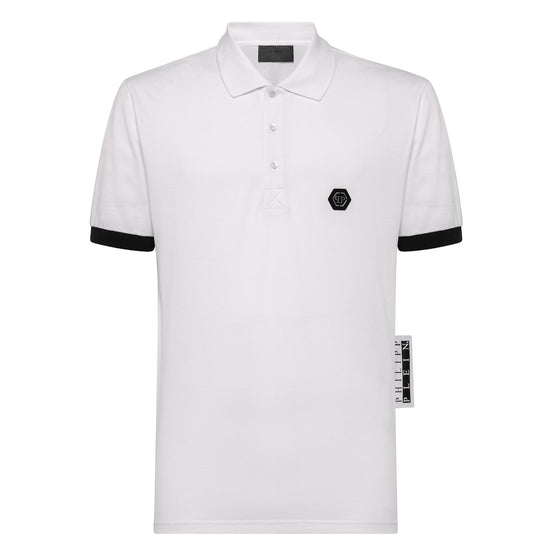 Polo shirt SS Thunder - White