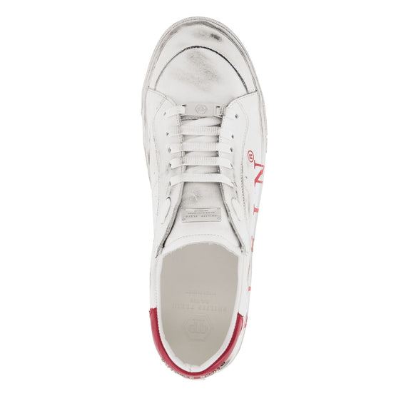 Lo-Top Sneakers Original - White / Red