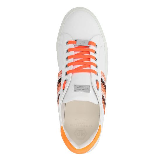 Lo-Top Sneakers Philipp Plein TM - Orange