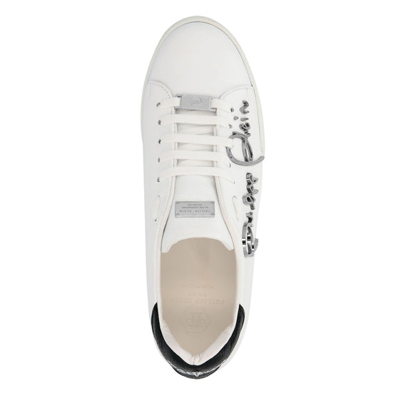 Lo-Top Sneakers Signature - White