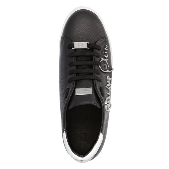 Lo-Top Sneakers Signature - Black